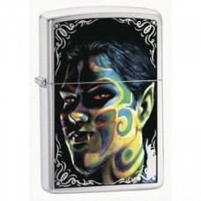 Зажигалка Zippo 200 Face Painting Boy 24403