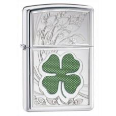 Зажигалка Zippo 250 Four Leaf Clover Thumbprint 24699