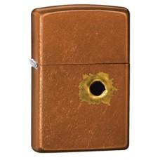 Зажигалка Zippo Bullet Hole Toffe 24717