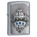Зажигалка Zippo Crown and Cross 24875