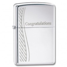 Зажигалка Zippo 250 Congratulations 24878