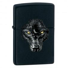 Зажигалка Zippo 218 Black Wolf 28001