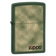 Зажигалка Zippo 221 Digital Zippo Green 28036