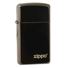 Зажигалка Zippo Slim Ebony w/zippo 28123 ZL