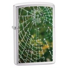 Зажигалка Zippo 200 Spider Web Rain Drops 28285
