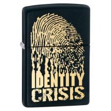 Зажигалка Zippo 218 Identity Crisis 28295