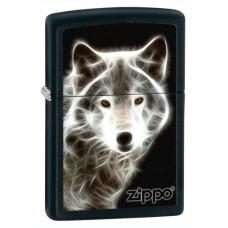 Зажигалка Zippo 218 White Wolf 28303