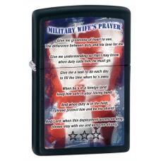 Зажигалка Zippo 218 Military Wifes  Prayer 28315