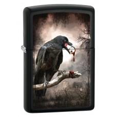 Зажигалка Zippo 21064 Goth-Raven Eyeball 28319
