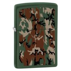 Зажигалка Zippo 221 Camouflage Green Matte 28330