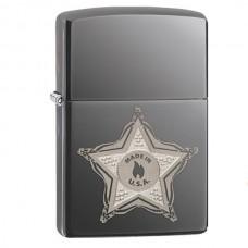 Зажигалка Zippo 150 Skull Badge 28360