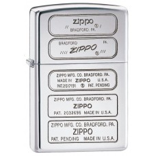 Зажигалка Zippo 250 Bottom Stamp Timeline  28381
