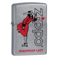 Зажигалка Zippo 207 Windproof Lady  28385