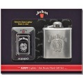 Набор Zippo 28414 Lighter & Jim Beam Flask Gift Set