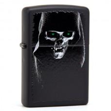 Зажигалка Zippo 218 Hooded Skull 28436