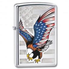 Зажигалка Zippo 250 Eagle Flag 28449