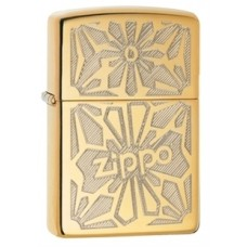 Зажигалка Zippo 254B Ornament High Polish Brass 28450