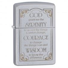 Зажигалка Zippo 205 Serenity Prayer 28458