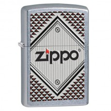 Зажигалка Zippo 207 Red end Chrome 28465