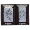 Набор Zippo из двух зажигалок 207/1607 Heart Combo Gift Set 28477
