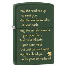 Зажигалка Zippo 221 Irish Blessing 28479