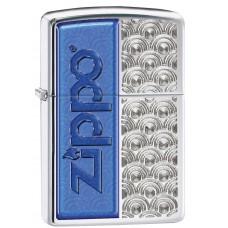 Зажигалка Zippo 250 Scallops with Zippo 28658
