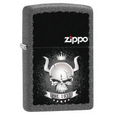 """Зажигалка Zippo 211 """"Skull Crown 1932"""" 28660"""