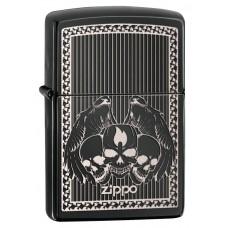 Зажигалка Zippo 24756 Iced Skulls 28678