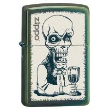 Зажигалка Zippo 28129 Skeleton Bartender 28679