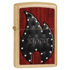 Зажигалка Zippo 207G Leather Flame 28832