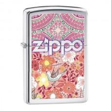 Зажигалка Zippo 250 Boho 4 Flowers Patterns 28851
