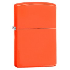 Зажигалка Zippo Reg Neon Orange Lighter 28888