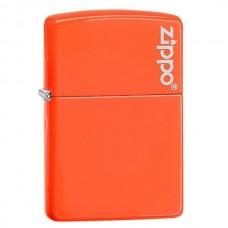Зажигалка Zippo Neon Orange Zippo Logo 28888ZL
