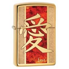 Зажигалка Zippo 254B Chinese Love 28953