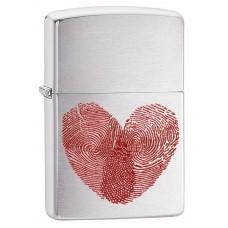 Зажигалка Zippo 200 Heart Thumbprints 29068