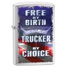Зажигалка Zippo 200 Free By Birth 29078