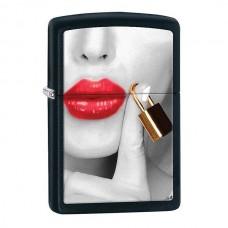 Зажигалка Zippo 218 Locked Lips 29089