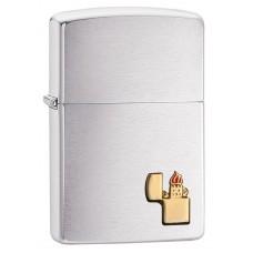 Зажигалка Zippo 200 Gold Lighter Emblem 29102