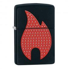 Зажигалка Zippo 218 Bling Flame Emblem  29106