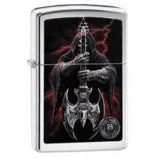 Зажигалка Zippo 250 Anne Stokes Grim Reaper Guitar 29109