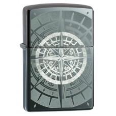 Зажигалка Zippo 150 Black Ice® Compass 29232