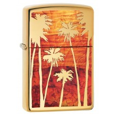 Зажигалка Zippo 254B Fuzion Palm Tree Sunset 29420