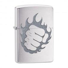 Зажигалка Zippo 200 Tattoo Fire and Fist 29428