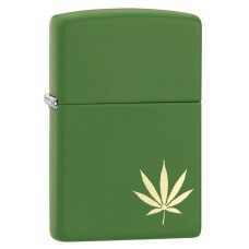 Зажигалка Zippo 228 Marijuana Leaf on the Side 29588