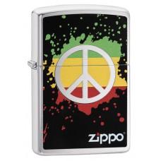Зажигалка Zippo 200 Peace Splash 29606