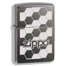 Зажигалка Zippo Honeycomb Black Ice 324680