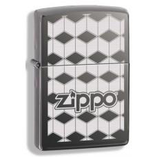 Зажигалка Zippo Cubes Black Ice 324681
