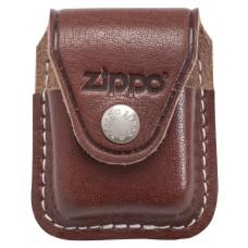 Чехол Zippo LPCB коричневый с клипсой