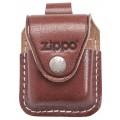 Чехол Zippo LPLB коричневый с петелькой