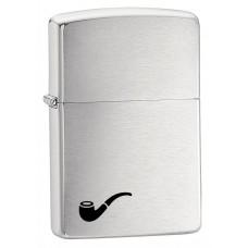 Зажигалка Zippo Brush Fin Pipe Lighter 200 PL